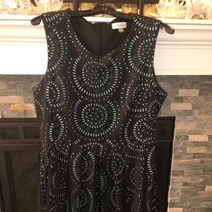 Fit and flare size 14 Calvin Klein dress!